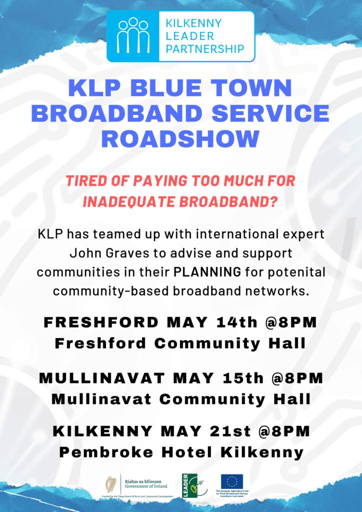 Klp Blue Town Broadband Service Roadshow