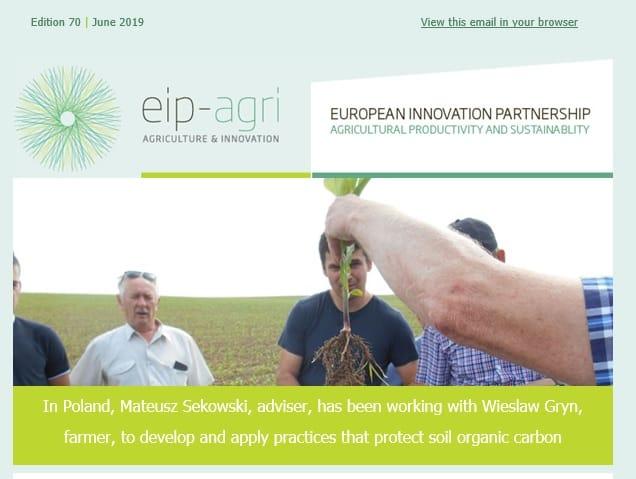 EIP-AGRI Newsletter June 2019