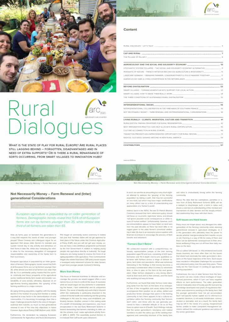 ARC2020 Rural Dialogues