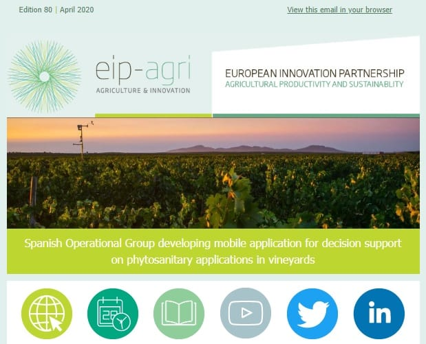 Newsletter from EIP-AGRI Service Point