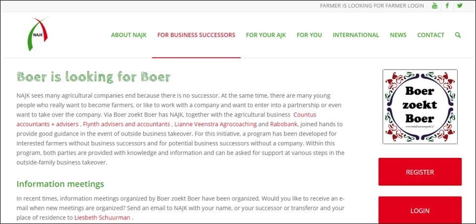 NETHERLANDS - Boer zoekt Boer (Farmer seeks Farmer)