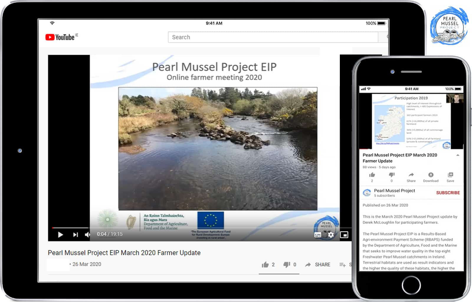 Pearl Mussel Project Online