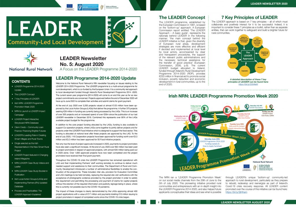 LEADER Newsletter August 2020